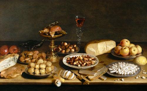 banquet still life, Jacob van Es