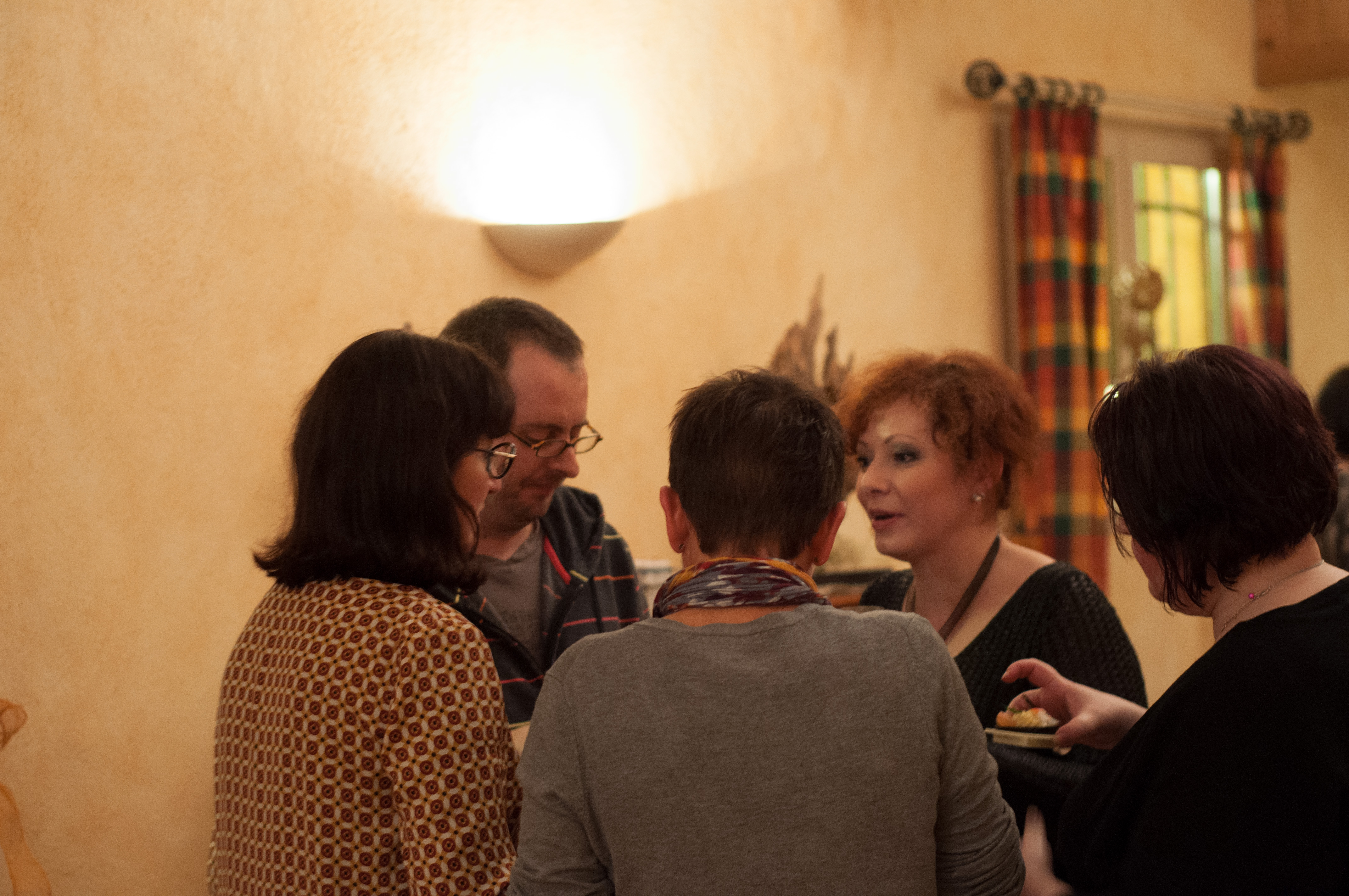 Eve et les bloggueurs.